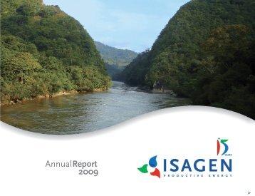Annual Report 2009 - Isagen