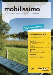 Mobilissimo - Das PostAuto Magazin - PostBus
