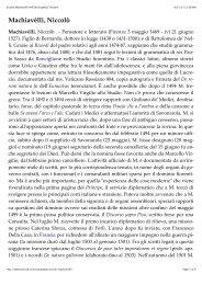 Nicolò Machiavelli - Fulmini e Saette