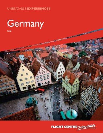 Brochures: Germany - Flight Centre Associates