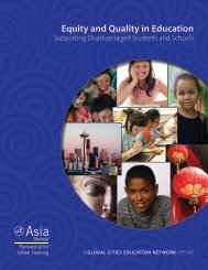 OECD Asia Society Equity and Quality in Education october 4 2012