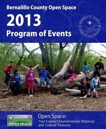 calendar of events - Bernalillo County