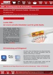 Loctite 3090 – der enorm schnelle Alleskleber auch ... - REIFF-Gruppe