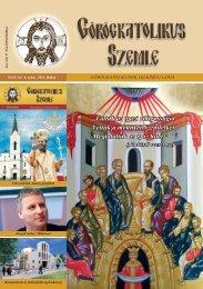Görögkatolikus Szemle 2011. június - Magyar Görögkatolikus Egyház