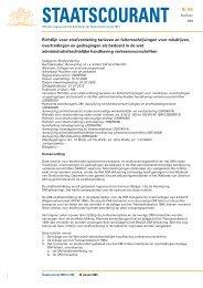 Richtlijn voor strafvordering tarieven - liigl