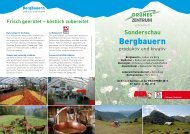 Bergbauern - Grünes Zentrum