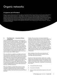 Organic networks - Digital Life Consortium - MIT