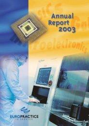 Annual report 2003 - Europractice