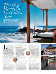 The Best Places in Los Cabos Now - El Dorado Golf & Beach Club