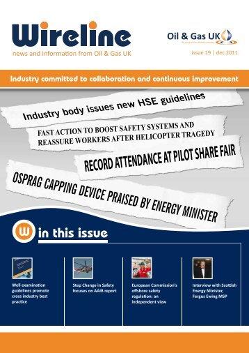 Issue 19 December 2011 (PDF File 2MB) - Oil & Gas UK