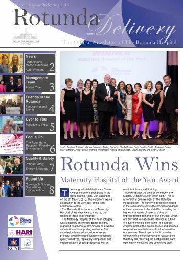 March 2013 - Rotunda Hospital