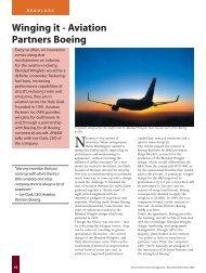 Airline Fleet: Winging It - Aviation Partners Boeing