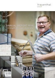 Annual Report 2010 - Frauenthal Holding AG