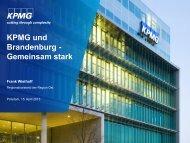 Vortrag hier - Wirtschaftsforum Brandenburg eV