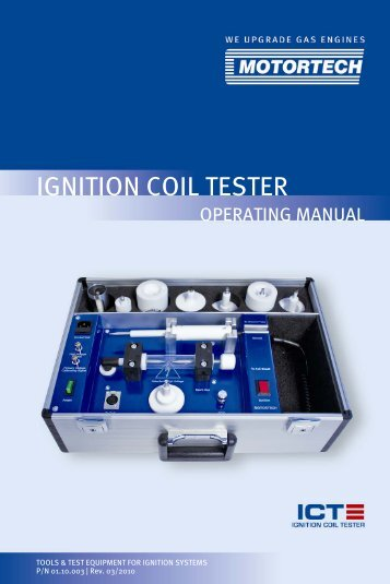 Ignition Coil Tester - Motortech GmbH