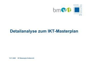 Detailanalyse zum Ikt-Masterplan