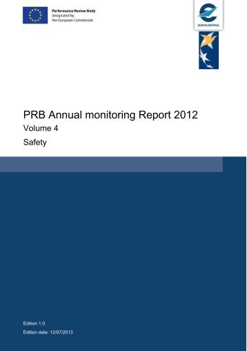 to view the full EUROCONTROL PRB Annual monitoring Report 2012