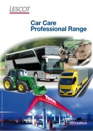 Car Care Professional Range