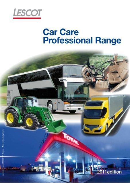 Car Care Professional Range