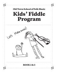 Fiddle Book 2 - Old Town School of Folk Music