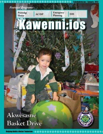 Kawennì:ios Newsletter - Tsiothohrkó:wa / January 2012