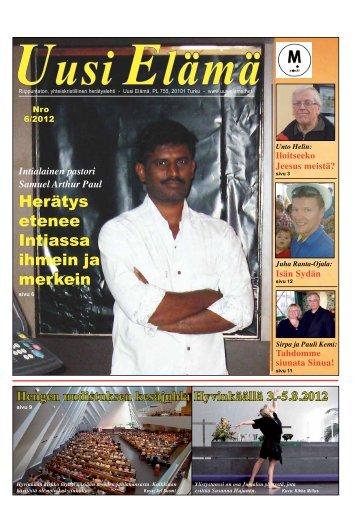 Herätys etenee Intiassa ihmein ja merkein - Uusi Elämä