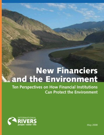 New Financiers and the Environment - ADFIAP