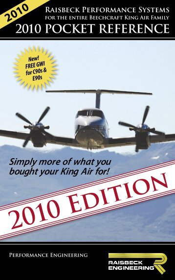 2010 Edition - JNS Aircraft Sales