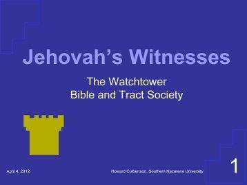 Jehovah's Witnesses - Southern Nazarene University
