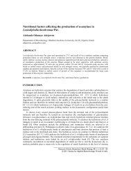 Nutritional factors affecting the production of α-amylase in ...
