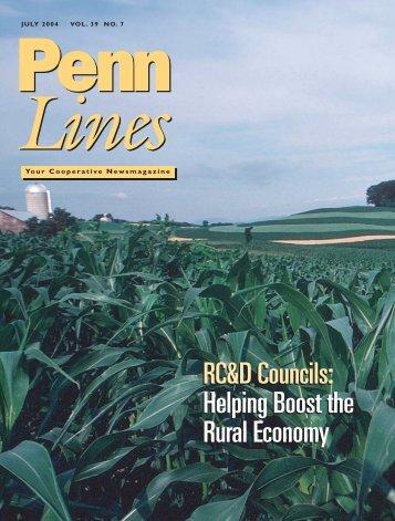 July 2004 - PREA - The Pennsylvania Rural Electric Association