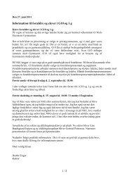 Informationsbrev til G10 og 1.g - Niels Steensens Gymnasium