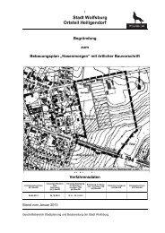 Begründung zum Entwurf (PDF; 1.5 MB) - Wolfsburg