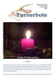 Frohe Weihnachten - Turnverein Gmunden 1861