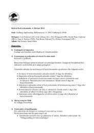 Referat af bestyrelsesmøde 04.02.2012 - Dansk Münsterländer Klub