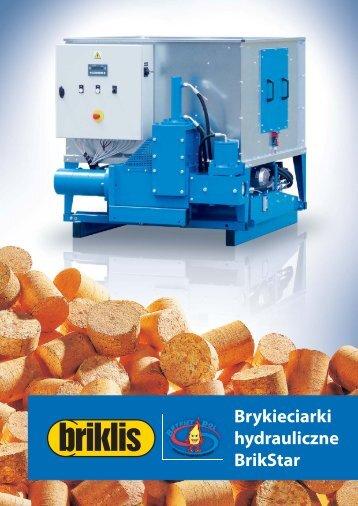 Brykieciarki hydrauliczne BrikStar