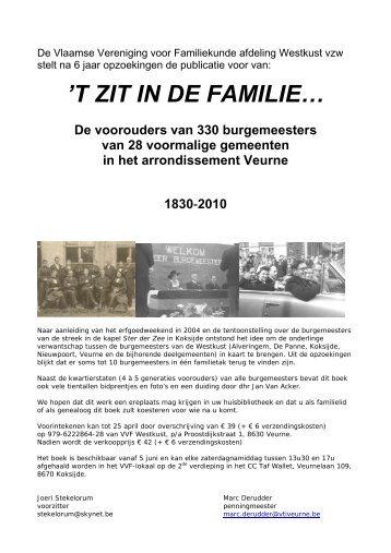 'T ZIT IN DE FAMILIE… - Erfgoedblog