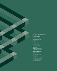 IdfC finance Limited
