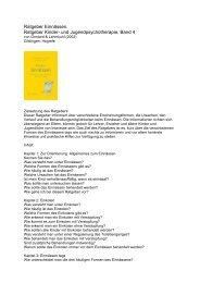 Ratgeber Einnässen. Ratgeber Kinder - Zentrum für Neurologie und ...