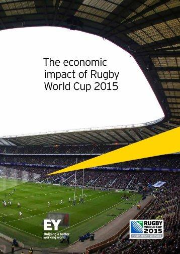 RWC 2015 Economic impact study