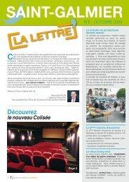 La Lettre N° 5 - Site officiel - Mairie de Saint-Galmier