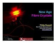 New Age Fibre Crystals