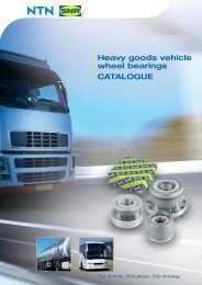 Heavy goods vehicle wheel bearings CATALOGUE