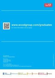 Graduate Brochure - Wood Group PSN