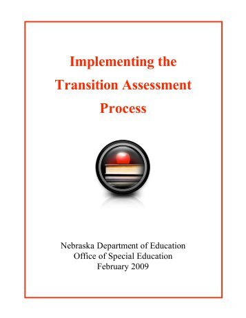 Cover Page - nde transition
