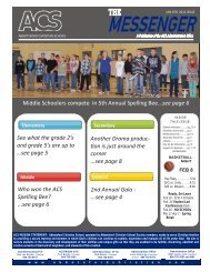 Issue 04-Jan-Feb 2011 - Abbotsford Christian School