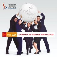 leveraging on emerging opportunities 2010 - SBF Download Area