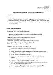 Finants- ja majandusosakonna põhimäärus