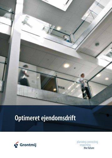 Brochure: Optimeret ejendomsdrift - Grontmij