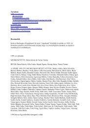 7. szám (2000. október) - Szegedi Karszt- és Barlangkutató Egyesület